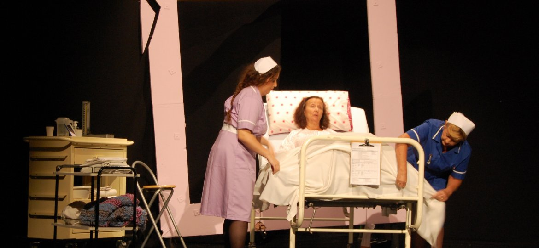 Nurse Sandler (Maxine Costa), Claire Harrison (Deborah Kloegman) & Sister Anderson (Tracy Christiansen)-min