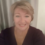 Tracey, not so much in soft focus, just a blurred selfie!