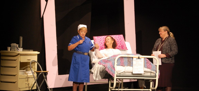 Sister Anderson (Tracy Christiansen), Claire Harrison (Deborah Kloegman) & Miss Hill (Lara Costa)-min